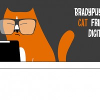 Hipster Cat collection. Cat friendly digital publishing