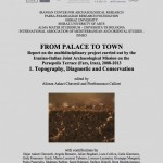 Nuova uscita: From palace to town. Vol. 1